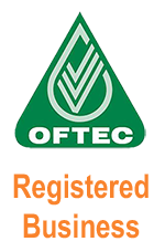 OFTEC Logo - certifies oil installers