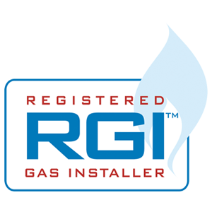 RGI Certified Logo - certifies gas installers