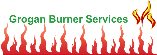 Grogan Burners Fire Logo